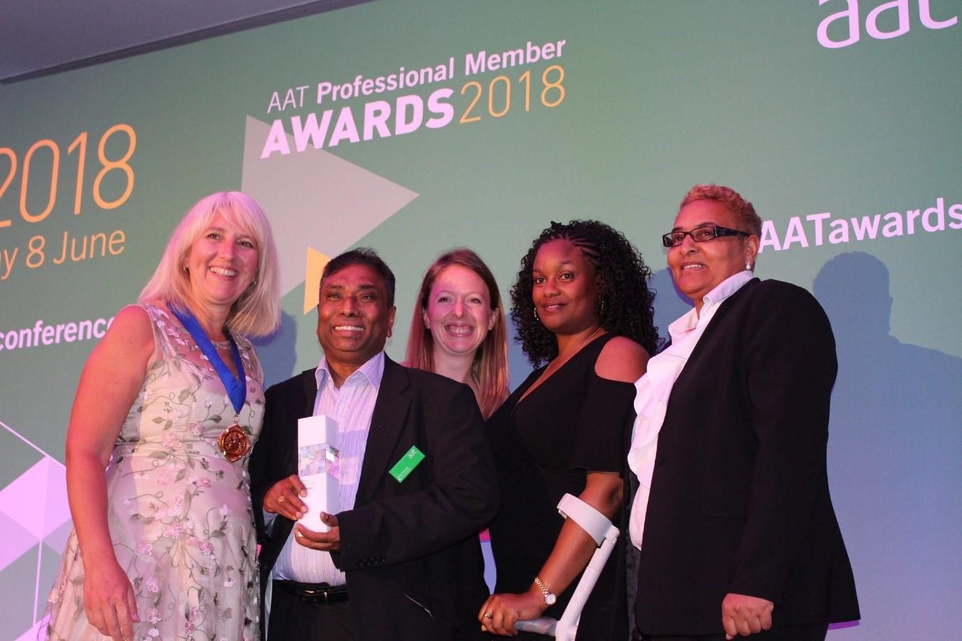 image: 2018 Professional Member awards