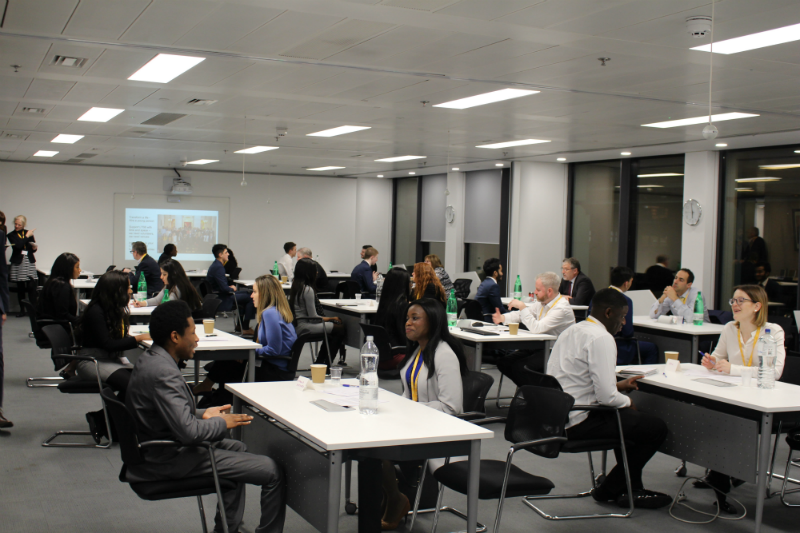 image: AAT speed interview event