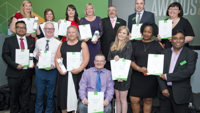 AAT Professional Member Awards winners 2017