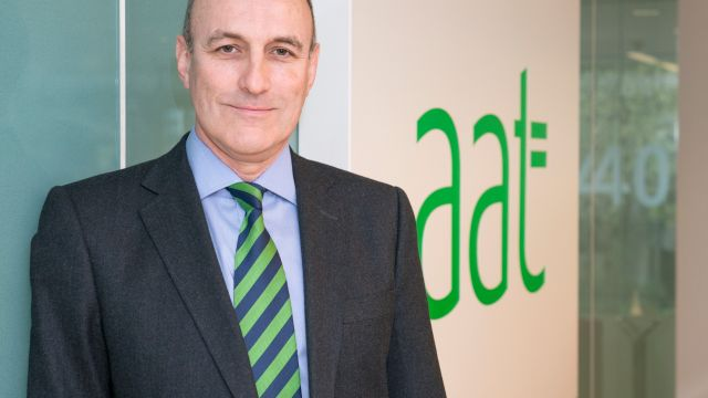 Image of AAT's Chief Executive, Mark Farrar