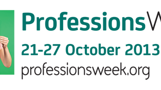 Professions Week runs from 21 to 27 October 2013.