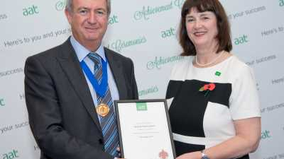 Miranda Thewlis MAAT wins this year's AAT CPD Prize