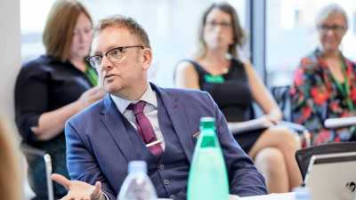 Adam Harper, AAT Director of Strategy and Professional Standards, at the recent roundtable on apprenticeships
