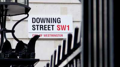image: downing street sign