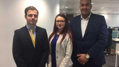 KPMG apprentices visit AAT