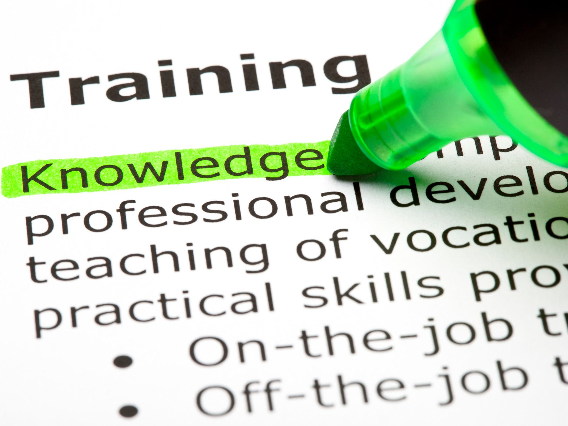 many people are not doing enough training to maintain skills and many workers haven t done any training in last six months