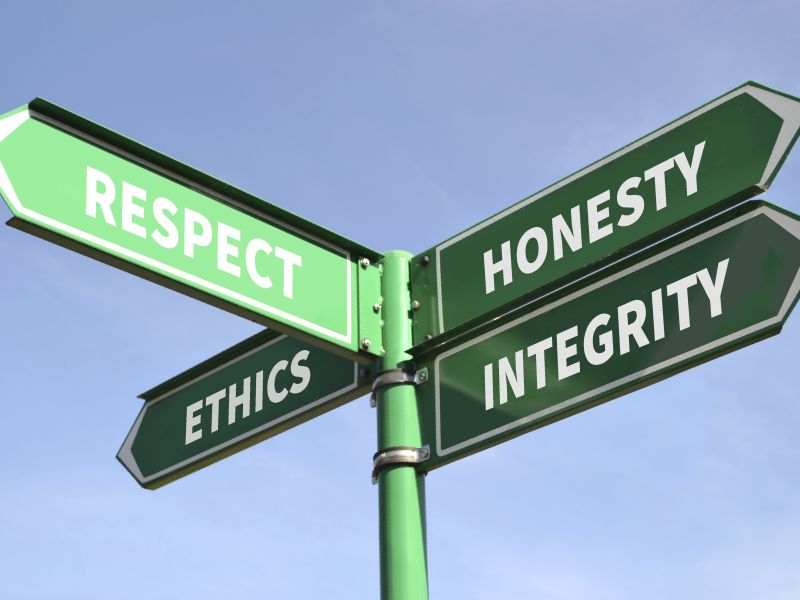 Ethical behaviour of a company influences consumer purchasing